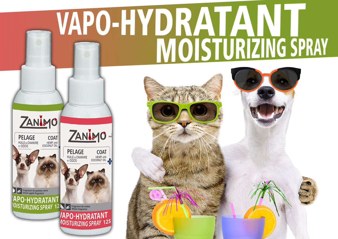 Moisturizing spray